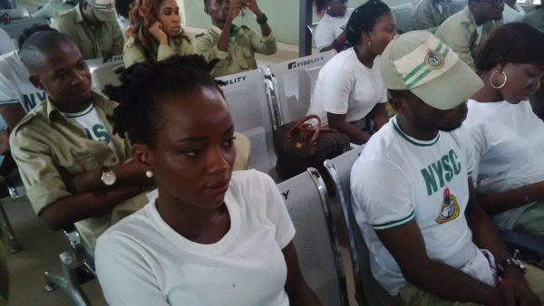 One-day training for NYSC Corp Members on Domestic Violence and Sexual Violence
