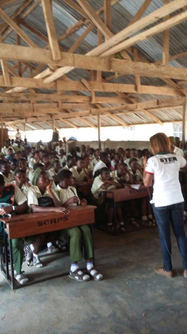 Awareness Raising in Alimosho Senior Secondary School